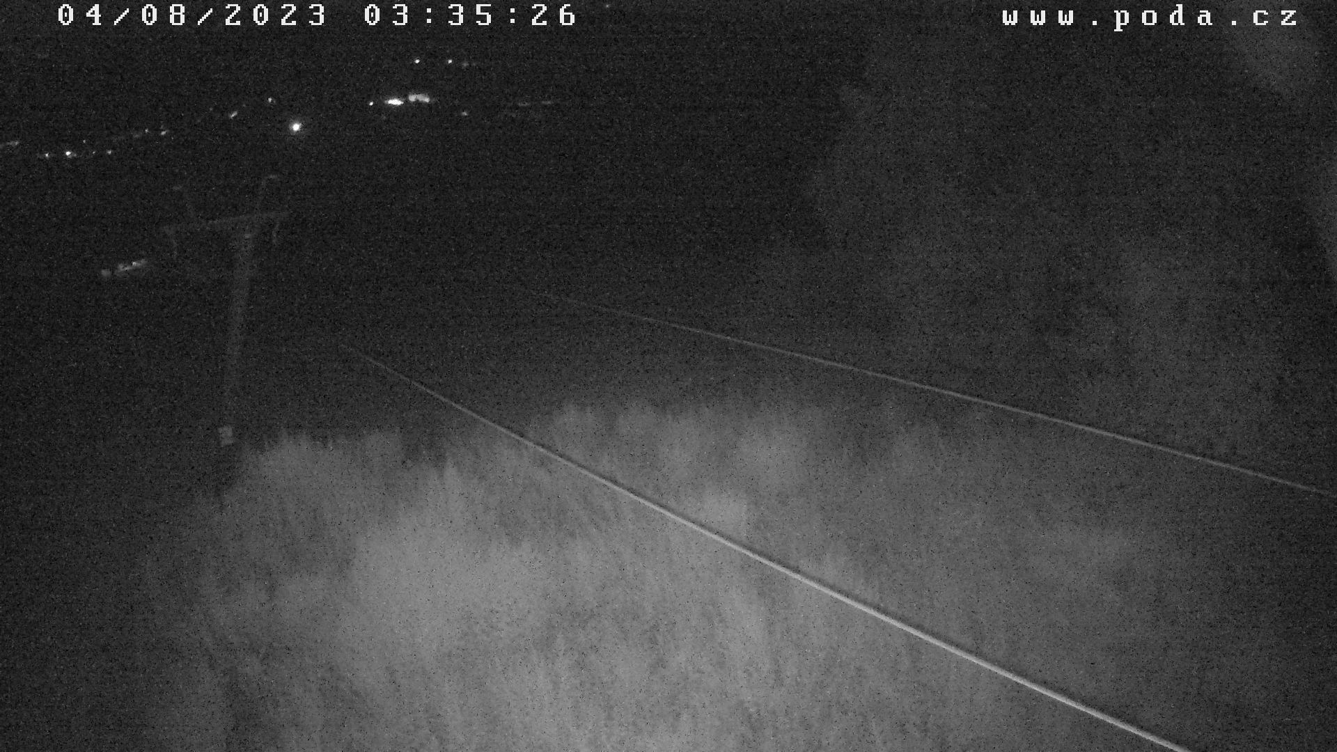 Olešnice na Moravě - aktuální pohled z webkamery